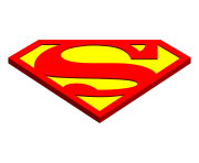 superman logo png cartoon