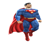 Superman Toy PNG Transparent Image