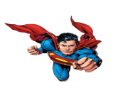 superman cartoon png