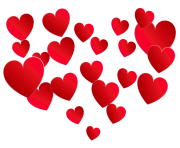 Transparent Heart of Hearts PNG Picture