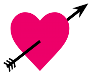 Pink Heart PNG Transparent Image
