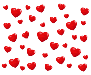 Pattern Hearts Png Transparent