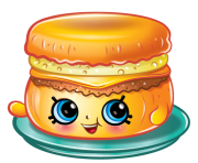 Barbie breakfast muffin Shopkins Picture