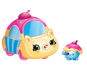 Cutie Cars Characters Cupcake Cruiser Shopkins Picture