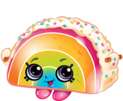 Rainbow bite shopkins Picture