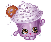 Creamy Cookie Cupcake Shopkins Picture