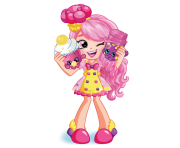 Bubbleisha Doll Shopkins Picture