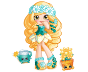 Daisy Petals Shopkins Princess Picture
