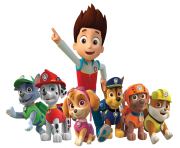 Paw Patrol Ryder All Characters