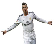 Gareth Bale PNG Transparent Image Short Hair