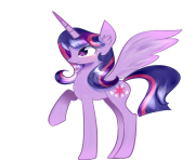 Alicorn Twilight Sparkle by artist joshydesu my little pony png
