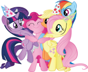 my little pony png all characters