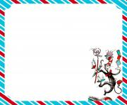 hd d seuss border writing papers primary grades