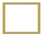 frame gold png transparent