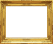 Gold Luxury Frame PNG Free
