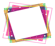 colorful frames png