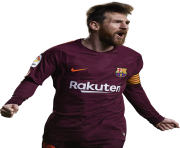 lionel messi 2018 png barca football