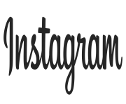 Instagram logo png text