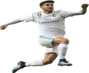 marco asensio real madrid png by dianjay