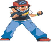 ash pokemon png picture