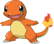 Charmander pokemon transparent