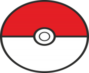 pokeball flat png transparent