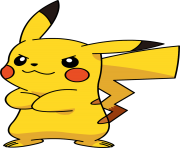 pikachu not happy pokemon png