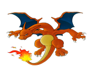 Charizard Pokemon transparent