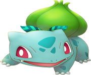 bulbasaur pokemon png transparent cute