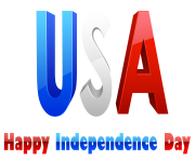 USA Happy Independence Day PNG Clipart