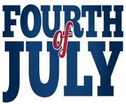 Fourth of July PNG Clip Art Image