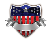 USA Badge with Banner Transparent PNG Clip Art Image