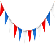 USA Streamer PNG Clip Art Image