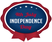 4th July Independence Day PNG Clip Art Image