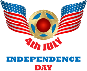 4th of July Transparent Clip Art PNG Image