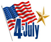 4th July Transparent PNG Clip Art Image