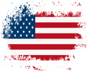 America Flag PNG Clip Art Image