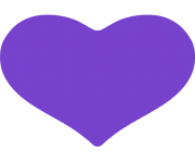 purple heart emoji facebook