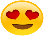 heart eyes emoji png