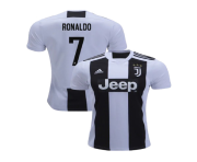 juventus cristiano ronaldo authentic black white home jersey