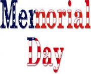 memorial day clipart sign stars stripes