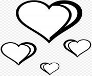 heart clipart black and white book