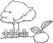 apple stree clipart black and white