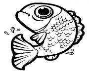 jumping fish black and white clipart