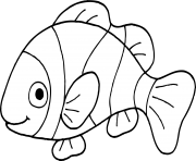nemo fish png black and white