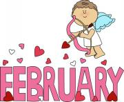 february clipart angel love