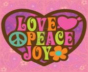 love peace and joy clipart