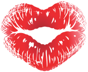 february kiss clipart