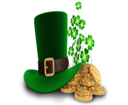 rosa hat green st patrick day png image