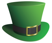 top hat st patricks day png